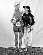 Dan Brenden and Huggette, Angeles Crest 100, 2008