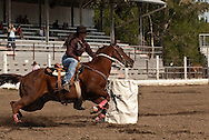 Barrel Racing, high school rodeo, Livingston, Montana