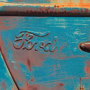Classic Ford Truck Door Panel - Motor Transport Museum - Campo, CA