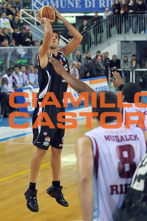 DESCRIZIONE : Rieti Lega A1 2008-09 Solsonica Rieti Eldo Caserta<br /> GIOCATORE : David Brkic<br /> SQUADRA : Eldo Caserta<br /> EVENTO : Campionato Lega A1 2008-2009 <br /> GARA : Solsonica Rieti Eldo Caserta <br /> DATA : 04/01/2009<br /> CATEGORIA : Tiro<br /> SPORT : Pallacanestro <br /> AUTORE : Agenzia Ciamillo-Castoria/E.Grillotti