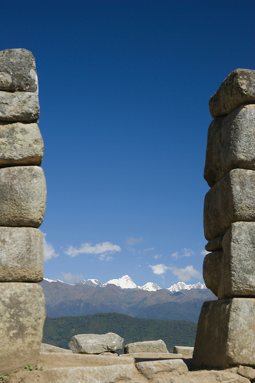 Machu Picchu, ruins of Inca city, Peru, South America