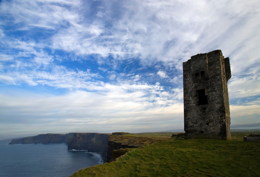 Hag's Head, at the Cliffs of Moher, Co. Clare, Ireland