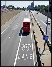 Olympic Traffic 25-7-12