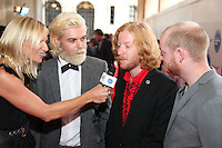 Jo Whiley and Biffy Clyro