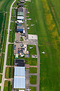 Nederland, Zeeland, Gemeente Middelburg, 09-05-2013; Arnemuiden, Vliegveld Midden-Zeeland (Zeeland Airport), grasbaan.<br /> Sealand airport, grass runway.<br /> luchtfoto (toeslag op standard tarieven);<br /> aerial photo (additional fee required);<br /> copyright foto/photo Siebe Swart.