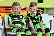 FGR mascots during the EFL Sky Bet League 2 match between Forest Green Rovers and Grimsby Town FC at the New Lawn, Forest Green, United Kingdom on 5 May 2018. Picture by Shane Healey.
