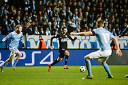 25.11.2015. Malm&ouml;, Sweden. <br /> &Aacute;ngel Di Mar&iacute;a of Paris in action during the UEFA Champions League match at the Malm&ouml; New Stadium. <br /> Photo: &copy; Ricardo Ramirez.