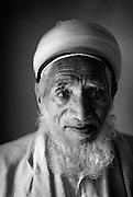 Portrait of gentleman in a Mosque.
