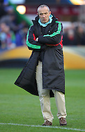 Conor O&rsquo;Shea, Director of Rugby of Harlequins during the European Rugby Champions Cup match at Twickenham Stoop , London<br /> Picture by Paul Terry/Focus Images Ltd +44 7545 642257<br /> 07/12/2014
