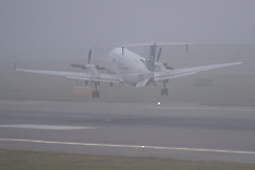 Wellington-Sea fog causes flight delays