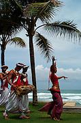 Folk Dancers in Sri Lanka