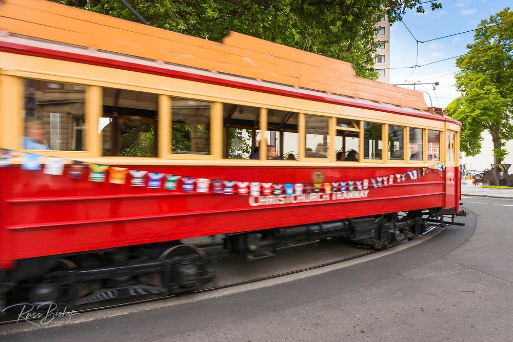Christchurch tramway, Christchurch, Canterbury, South Island, New Zealand