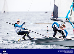 From 9 to 16 September 2018, the Tokyo 2020 Olympic Sailing Competition venue in Enoshima, Japan, will host sailors for the first event of the 2019 World Cup Series. More than 450 sailors from 45 nations will race in the 10 Olympic events.  ©JESUS RENEDO/SAILING ENERGY/ WORLD SAILING<br /> 12 September, 2018.