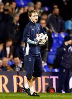 Tottenham's Oscar Jansson Tottenham Hotspur Vs Shakhtar Donetsk at White Hart Lane London England<br /> UEFA Cup Third Round Second Leg.<br /> 26/02/2009. Credit Colorsport  / Kieran Galvin