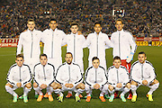 All Whites Team Photo (NZL), <br /> MARCH 5, 2014 - Football /Soccer : <br /> Kirin Challenge Cup 2014<br /> between Japan 4-2 New Zealand <br /> at National Stadium, Tokyo, Japan. <br /> (Photo by YUTAKA/AFLO SPORT)