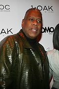 "Andre Leon Talley pictured at the cocktail party celebrating Sean ""Diddy"" Combs appearance on the "" Black on Black "" cover of L'Uomo Vogue's October Music Issue"