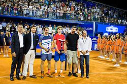 After Final of singles at Plava Laguna Croatia Open Umag, on July 23, 2017 in Stadium Gorana Ivanisevica, Umag, Croatia. Photo by Urban Urbanc / Sportida