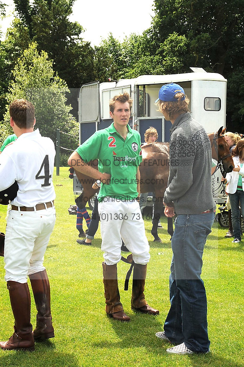OTIS FERRY at a Pro-Celebrity Polo match in aid of the Mark Davies Injured Riders Fund Charity Day held at Cowdray Park, West Sussex on 22nd June 2008.<br />