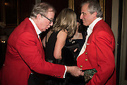 MARK DAVIES; VISCOUNTESS ASTOR; VISCOUNT ASTOR, Charlton Hunt Ball at Goodwood House.  6 February 2016