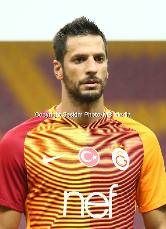 Turkey superlig match between Galatasaray and Kardemir Karabukspor at Turk Telekom Arena in Istanbul , Turkey , August 22  ,2016.<br /> Final Score : Galatasaray 1 - Kardemir Karabukspor 0<br /> Pictured: Hakan Balta of Galatasaray.