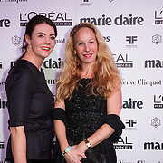 NLD/Amsterdam/20150119 - De Marie Claire Prix de la Mode awards, ........ en Nynke van den Berg