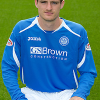 St Johnstone FC...Season 2011-12<br /> David Robertson<br /> Picture by Graeme Hart.<br /> Copyright Perthshire Picture Agency<br /> Tel: 01738 623350  Mobile: 07990 594431