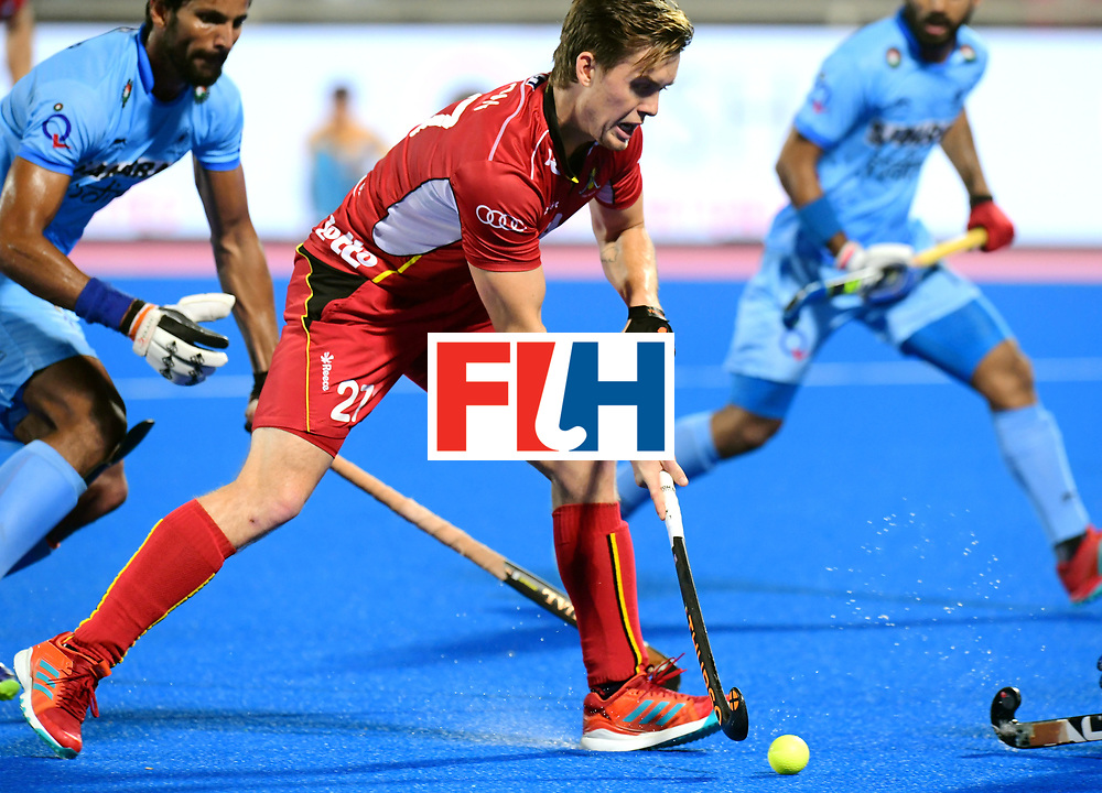 Odisha Men's Hockey World League Final Bhubaneswar 2017<br /> Match id:13<br /> Belgium v India<br /> Foto: Tom Boon (Bel) <br /> COPYRIGHT WORLDSPORTPICS FRANK UIJLENBROEK