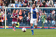Blackburn Rovers Midfielder, Elliott Bennett (31) during the EFL Sky Bet Championship match between Blackburn Rovers and Aston Villa at Ewood Park, Blackburn, England on 29 April 2017. Photo by Mark Pollitt.