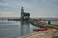 The waters off the island of Marken make for good kayaking.