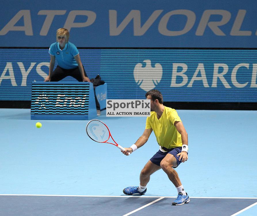 Ivan Dodig & Marcelo Melo v Mariusz Fyrstenberg & Marcin Matkowski Doubles match during the Barclays ATP World Tour Finals London on 7th November 2013 © Phil Duncan   SportPix.org.uk