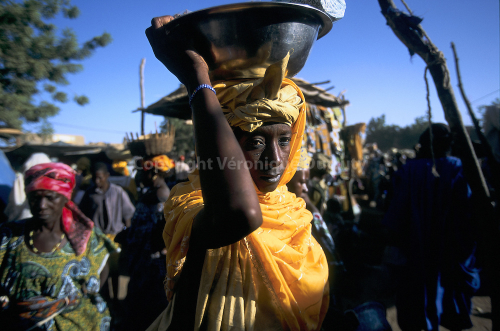 Djenne big market takes place every monday.