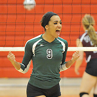 10.18.2012 Elyria Catholic vs Wellington Varsity Volleyball