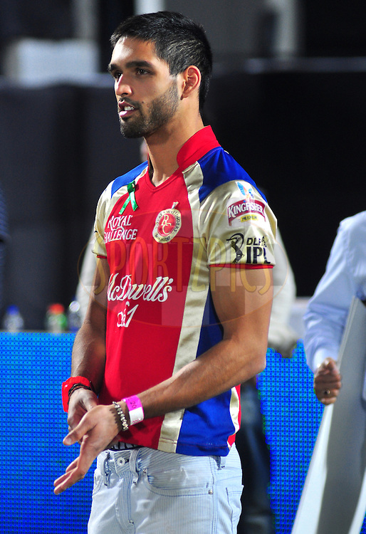 Siddharth Mallya after  match 30 of the the Indian Premier League ( IPL) 2012  between The Rajasthan Royals and the Royal Challengers Bangalore held at the Sawai Mansingh Stadium in Jaipur on the 23rd April 2012..Photo by Arjun Panwar/IPL/SPORTZPICS
