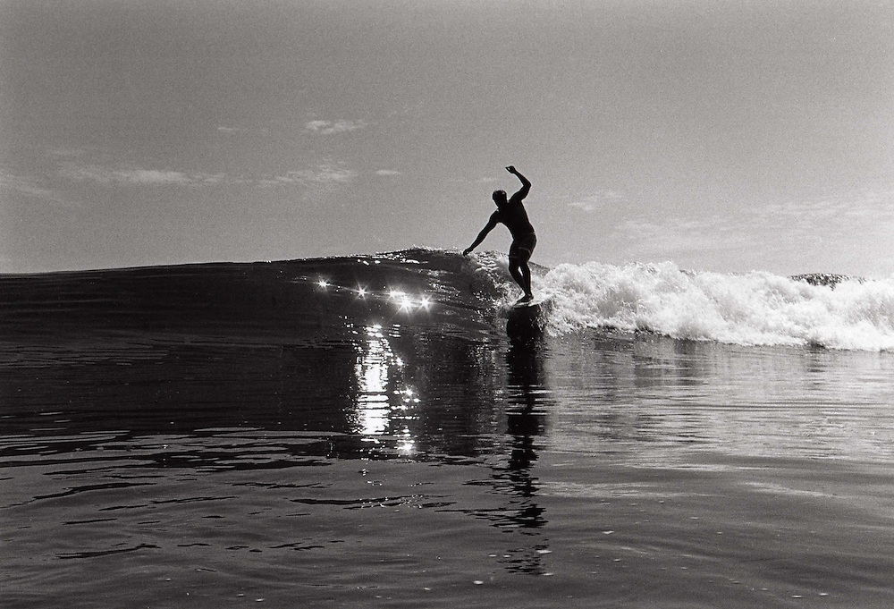 Clean small summer wave at Rights and Lefts, we would surf waves like this every week during the summer of 1966, life was good.