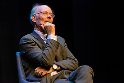 LBC presenter, Iain Dale interviews Sir John Curtice and Michael Crick as part of his All Talk series at the Edinburgh Fringe Festival.<br /> <br /> Pictured: Professor John Curtice who argued that its too late to negotiate a Brexit deal before 31 October.