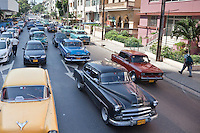 The streets of Havana are a colourful mix of classic cars and beautiful architecture all in a tropical setting.