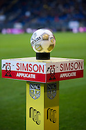 Onderwerp/Subject: Eredivisie<br /> Reklame:  <br /> Club/Team/Country: <br /> Seizoen/Season: 2012/2013<br /> FOTO/PHOTO: Match ball Derby Star. (Photo by PICS UNITED)<br /> <br /> Trefwoorden/Keywords: <br /> #16 $94 ±1342772543138 ±1342772543138<br /> Photo- & Copyrights © PICS UNITED <br /> P.O. Box 7164 - 5605 BE  EINDHOVEN (THE NETHERLANDS) <br /> Phone +31 (0)40 296 28 00 <br /> Fax +31 (0) 40 248 47 43 <br /> http://www.pics-united.com <br /> e-mail : sales@pics-united.com (If you would like to raise any issues regarding any aspects of products / service of PICS UNITED) or <br /> e-mail : sales@pics-united.com   <br /> <br /> ATTENTIE: <br /> Publicatie ook bij aanbieding door derden is slechts toegestaan na verkregen toestemming van Pics United. <br /> VOLLEDIGE NAAMSVERMELDING IS VERPLICHT! (© PICS UNITED/Naam Fotograaf, zie veld 4 van de bestandsinfo 'credits') <br /> ATTENTION:  <br /> © Pics United. Reproduction/publication of this photo by any parties is only permitted after authorisation is sought and obtained from  PICS UNITED- THE NETHERLANDS
