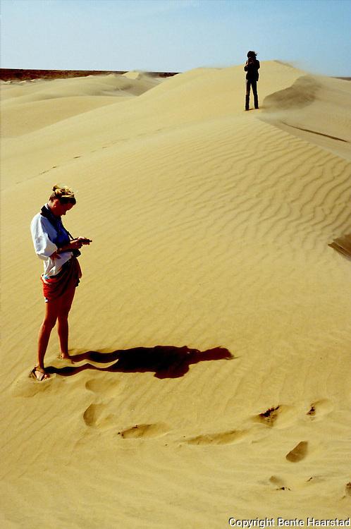 Sahara, Marokko. Guri Dahl..dias..