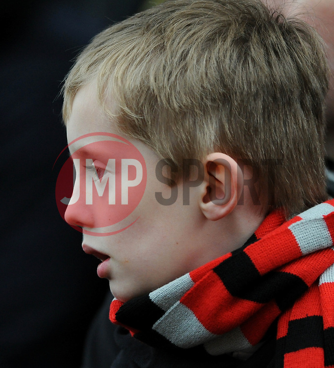 Bristol City fan - Photo mandatory by-line: Dougie Allward/JMP - Mobile: 07966 386802 - 28/02/2015 - SPORT - football - Bristol - Ashton Gate - Bristol City v Rochdale AFC - Sky Bet League One
