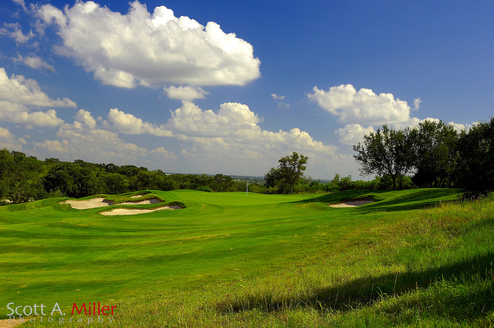 September 7, 2007, San Antonio, Texas; Hole No. 3 at the Briggs Ranch Golf CLub...                ©2007 Scott A. Miller