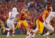 October 01, 2011: Iowa State Cyclones quarterback Steele Jantz (2) passes the ball during the first half of the game between the Iowa State Cyclones and the Texas Longhorns at Jack Trice Stadium in Ames, Iowa on Saturday, October 1, 2011. Texas defeated Iowa State 37-14.