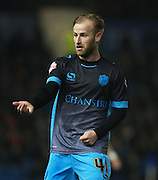 Sheffield Wednesday midfielder Barry Bannan  during the Sky Bet Championship match between Brighton and Hove Albion and Sheffield Wednesday at the American Express Community Stadium, Brighton and Hove, England on 8 March 2016. Photo by Bennett Dean.