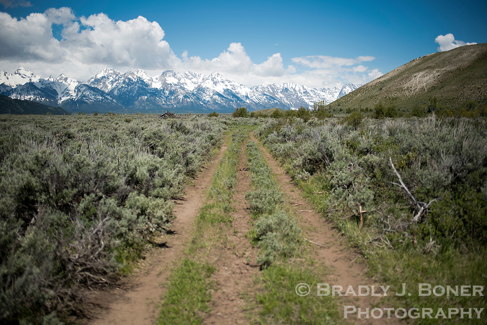 An old two-track road winds from the town of Kelly to the namesake cemetery on the eastern edge of Grand Teton National Park. If one doesn't know the route, the cemetery can be difficult to find.