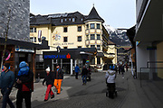 Dag voorafgaand aan de Fotosessie met de koninklijke familie in Lech /// Day before the Photoshoot with the Dutch royal family in Lech .<br /> <br /> Op de foto/ On the photo: Sankt Anton am Arlberg - Hotel Alte Post