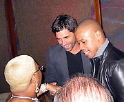 Luenell, John Stamos & Cuba Gooding Jr..LA Confidential Party Pre Golden Globe.Whiskey Blue at W Hotel.Westwood, CA, USA.Saturday, January 13, 2007.Photo By Celebrityvibe.com.To license this image please call (212) 410 5354; or.Email: celebrityvibe@gmail.com ;.Website: www.celebrityvibe.com