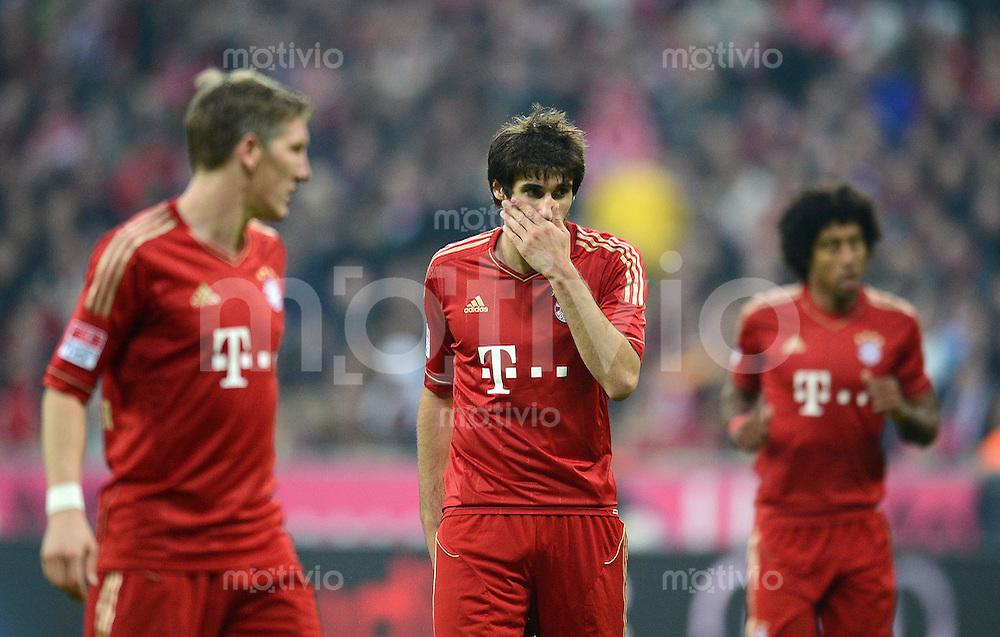 FUSSBALL   1. BUNDESLIGA  SAISON 2012/2013   11. Spieltag FC Bayern Muenchen - Eintracht Frankfurt    10.11.2012 Javi , Javier Martinez (FC Bayern Muenchen)