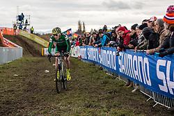 CONROY David (IRL) during Men Under 23 race, 2020 UCI Cyclo-cross Worlds Dübendorf, Switzerland, 1 February 2020. Photo by Pim Nijland / Peloton Photos | All photos usage must carry mandatory copyright credit (Peloton Photos | Pim Nijland)