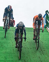 CLOUSE Katie (USA) during Women Under 23 race, 2020 UCI Cyclo-cross Worlds Dübendorf, Switzerland, 2 February 2020. Photo by Pim Nijland / Peloton Photos | All photos usage must carry mandatory copyright credit (Peloton Photos | Pim Nijland)