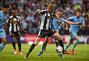 Notts County forward Jonathan Stead (30) during the EFL Sky Bet League 2 match between Notts County and Coventry City at Meadow Lane, Nottingham, England on 18 May 2018. Picture by Jon Hobley.