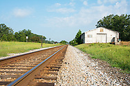 The longest straight section of track in the USA, this runs from Laurel Hill NC 80 miles to Wilmington NC.